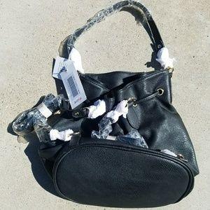 JustFab Bucket/Backpack Purse